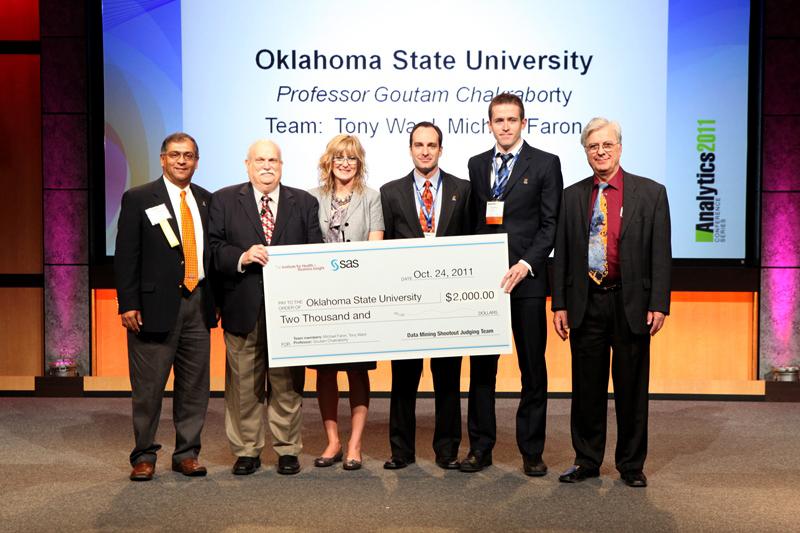 StatCore captures Bronze Medal in 2011 SAS Analytics Data Mining Shootout
